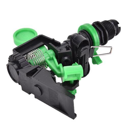 Garden Metal Sprinkler Spike Lawn Grass Adjustable Rotating Water Nozzle Impulse