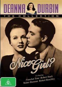 DVD-NICE-GIRL-DEANNA-DURBIN-BRAND-NEW-UNSEALED-REGION-4-FAST-POST