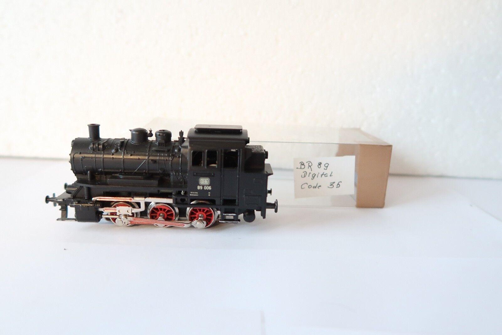 Digital   HO/AC 3000 a Vapore Locomotiva Br 89 006 DB  dk/96-29s1/4