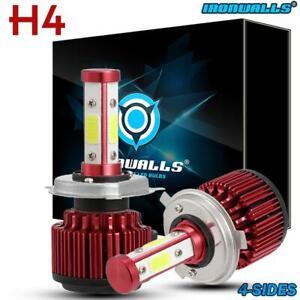 For-Nissan-Navara-D22-D40-H4-9003-CREE-LED-Headlight-Bulbs-vs-HID-Xenon-Halogen