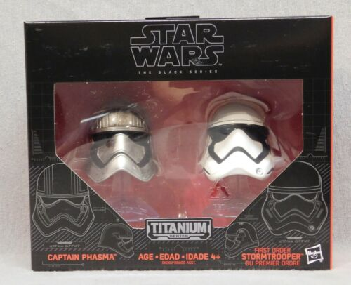 Star Wars Black Series METAL Casques-Capitaine Phasma-Stormtrooper-WAVE 1