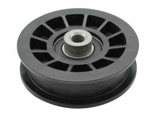 passend Husqvarna CTH150 954140101 Kunststoff Spannrolle Fahrwerk 89mm