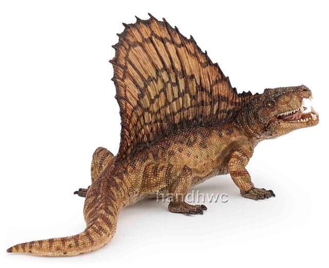 Papo 55033 Dimetrodon Dinosaur Model Toy Replica Dino Articulared Jaw - NIP