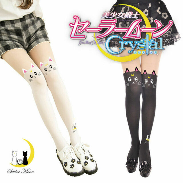 Sailor Moon Artemis Knee High Socks Socks