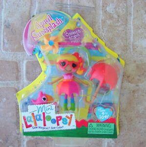 April-Sunsplash-Mini-Lalaloopsy-Doll-New-Retired-MGA-Toy-Fish-Pinwheel-Umbrella
