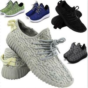 NEW MENS RUNNING TRAINERS WOMENS FITNESS GYM SPORTS COMFY LACE UP SHOES UK  SIZE