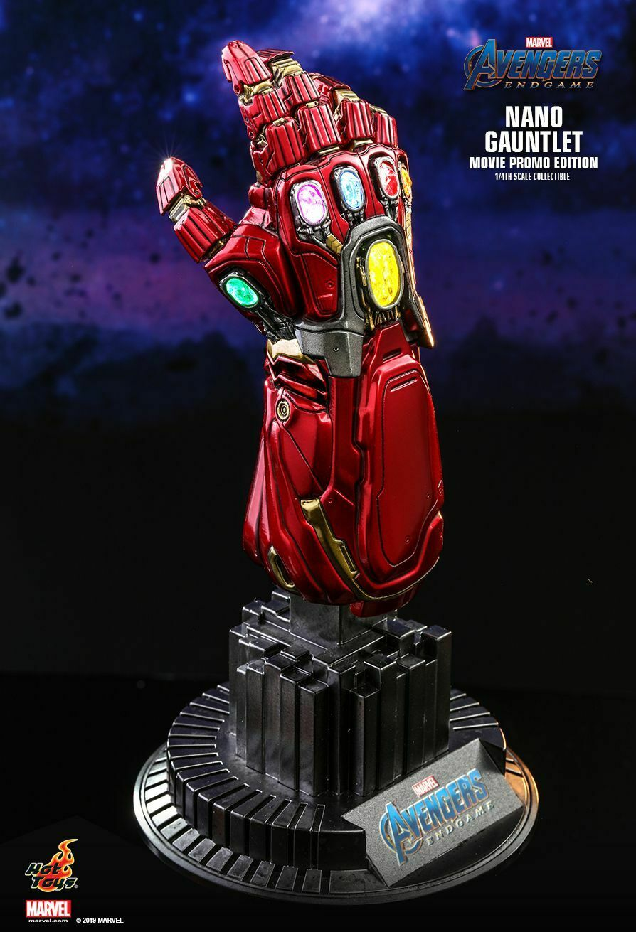 Hot Toys ACS008 1 4 Scale NANO GAUNTLET
