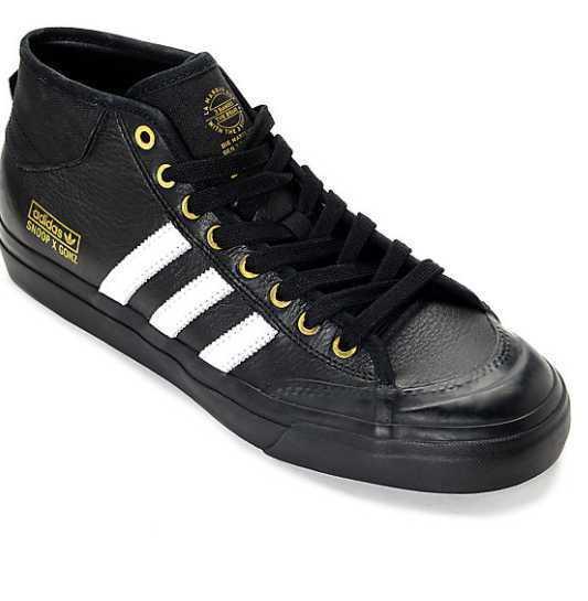 NEW 7-12 homme ADIDAS MATCHCOURT MID x SNOOP x GONZ LA STORIES noir SKATE chaussures