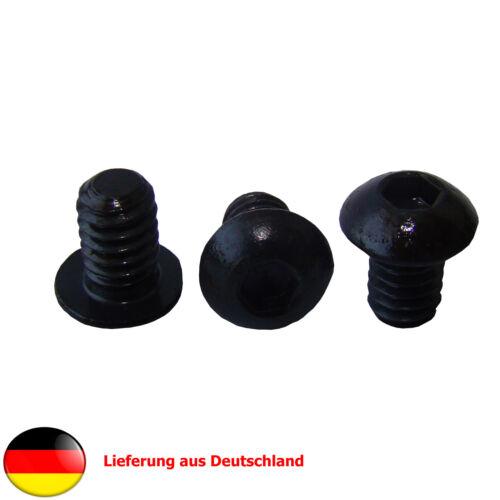 """12 Stück 1//4/"""" Zoll Linsenkopfschraube Gewindelänge 9,5mm-Kamera-//Stativschraube"""