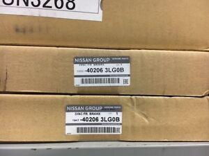 Genuine-Nissan-NV200-Front-brake-discs-1-PAIR-2-discs-402063LG0B