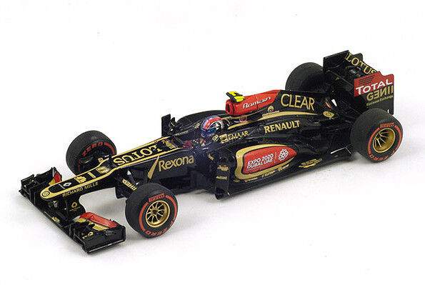 S3072 Spark 1 43  Lotus E21 nd lugar Estados Unidos Grand Prix 2013 Romain décimas