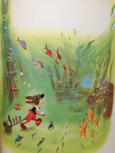 PINOCCHIO-Collodi-Walt-Disney-Illustrato-Avventure-Burattino-Libro-Vintage-Fiaba