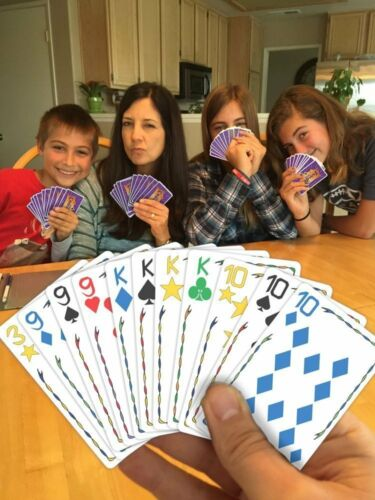 Five Crowns Playing Card Game For Children Adluts Family Gathering Party 7AUK