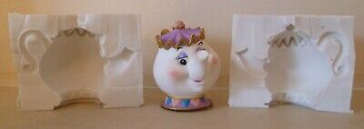 3D BEAST FROM BEAUTY AND THE BEAST SILICONE MOULD FOR CAKE TOPPERS CHOCOLATE