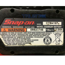 battery Rebuilt For SNAP-ON 18v 2000mAh High Capacity Ni-CD Battery CTB4187