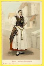 cpa SOLEURE SOLOTHURN Litho Lausanne COSTUME SUISSE SWITZERLAND DRESS