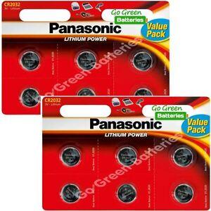 12-x-Panasonic-CR2032-3V-Lithium-Coin-Cell-Battery-2032