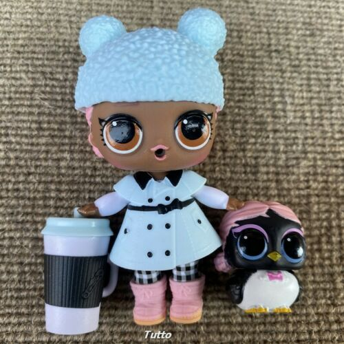 LOL Surprise Doll Big City BB Doll /& Penguin In the City Pet Under Wraps Toys