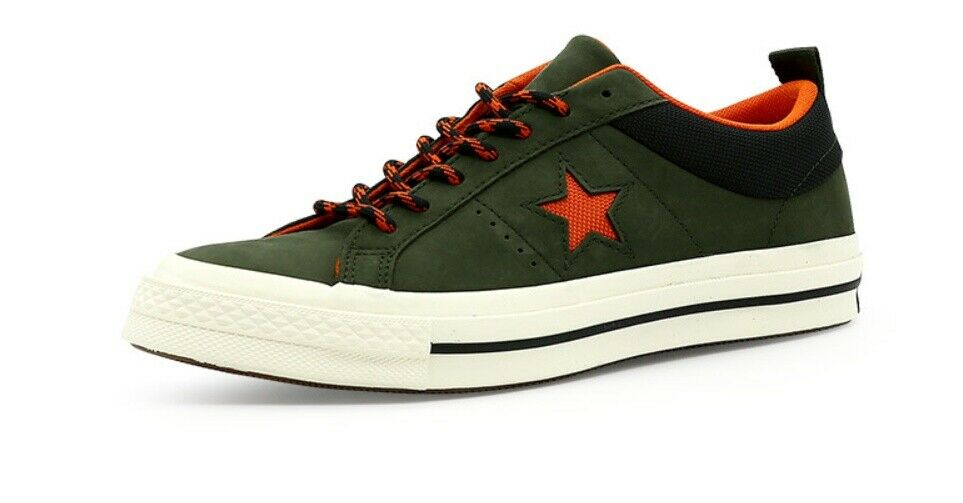 CONVERSE ONE STAR MEN'S STREET CASUAL STYLE US 9.5 NEW STYLE  162544C