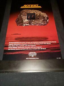 Alcatrazz No Parole From Rock 'N' Roll Rare Radio Promo Poster Ad Framed! #6
