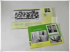 Canada 2015 Black History Month - Nelson Mandela Official FDC & Souvenir Sheet
