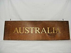 VINTAGE-WOODEN-WINE-COUNTRY-REGION-AUSTRALIA-SIGN-DISPLAY-BAR-RESTAURANT