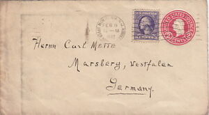 United-State-Cover-Montclair-1922-Entier-Postal-gt-gt-Germany