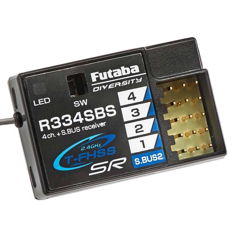 Futaba R334SBS S.autobus2 T-FHSS SR  HV Receiver FUTL7688  marche online vendita a basso costo