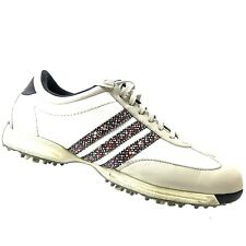 brand new 106ad 9441c ADIDAS White Stripe Golf Shoes Womens Size 8 M - Driver Okapi Traxion  Fitfoam