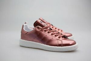Bronzo Bb0107 Boost Donna Bianco Adidas Metallico Rame Calzature Smith W Stan qwHWvXB