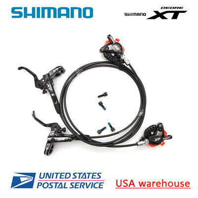 Shimano XT M8100 Disc Brake Levers w//Caliper Hidraulic Disc Brake  Left /& Right