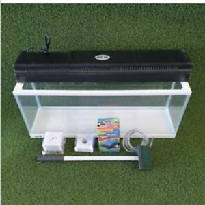 Details About Aquatee S Fishland Gex Aquarium Set 60 Ltr Fish Tank Light Pump Filter Scrubber
