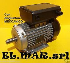 Motore Elettrico 4 HP 3 KW Monofase con Disgiuntore x Compressore bombole SUB