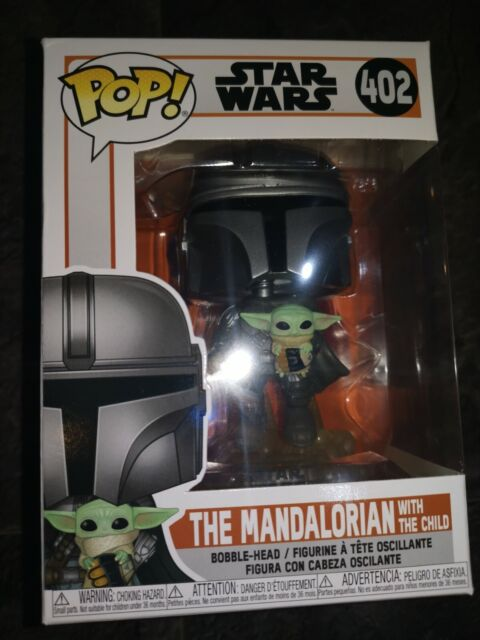 Funko Pop! Star Wars The Mandalorian With The Child #402