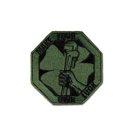 Own Luck Tactical Combat Backpack Morale Embroidered Patch Badge Hook and Loop