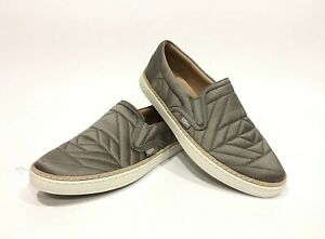 07aa707828b Details about UGG SOLEDA QUILTER SNEAKER SLIP-ONS ELEPHANT GRAY -US SIZE 7  -NEW