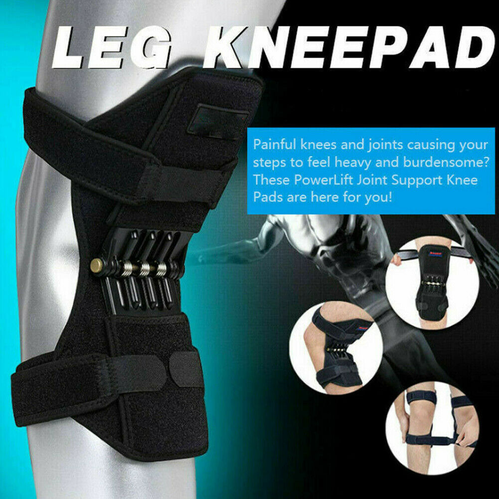 Power Knee Stabilizer Pads Powerful Rebound Spring Force Support Knee Pa 4