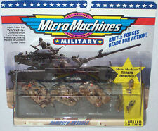 Military Micro Machines 1992 #8 ARMORED ASSAULT M1A1 ABRAMS, M551 SHERIDAN M2A2