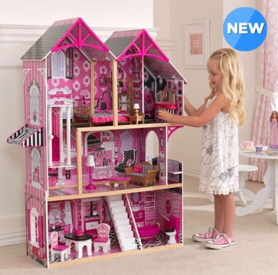 KidKraft Couture Dollhouse + 14 Pieces of Years)-Bargain Furniture (3+ Years)-Bargain of 2af7fd