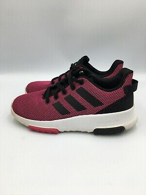 **adidas Cloudfoam Racer TR B75659 Athletic Sneaker, Big Kid's Size 2 Magenta | eBay