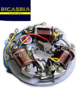 Details about 7466-Estátor wheel 6 volt 5 wire vespa 125 super gt on lamborghini super, maserati super, aprilia super,