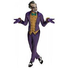 Joker Costume Adult Batman Arkham City Superhero Villain Halloween Fancy Dress