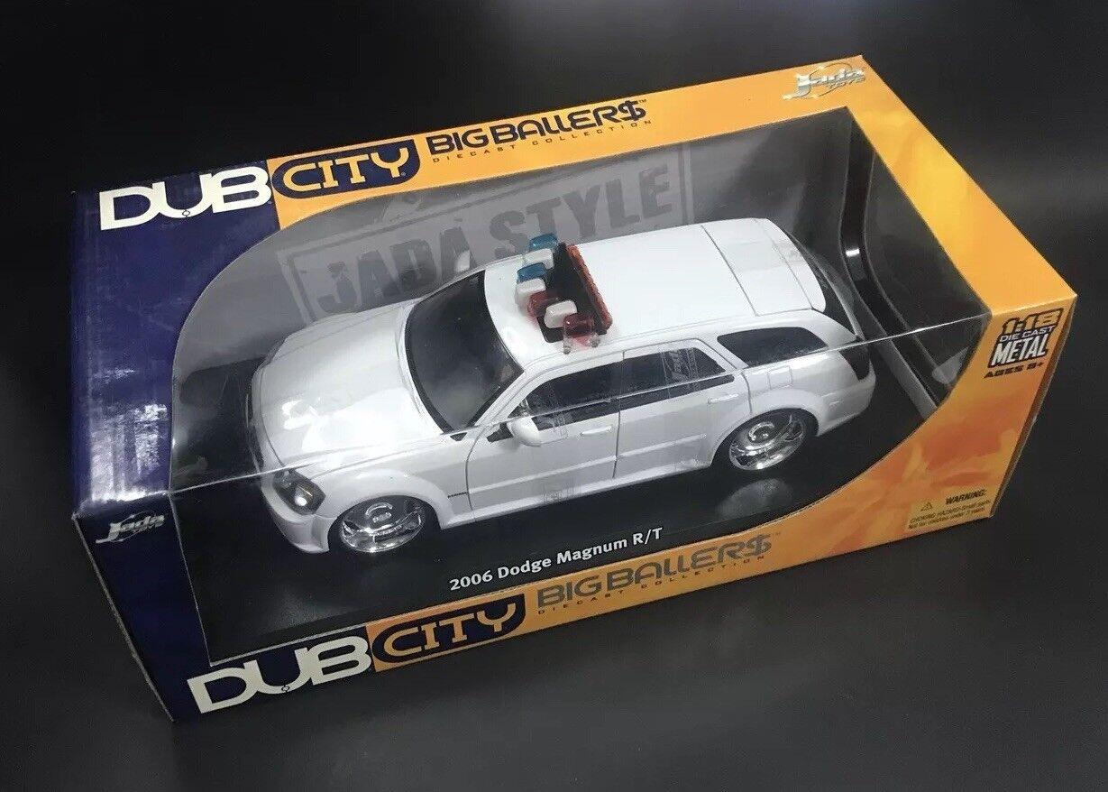 2006 Dodge Magnum R T 1 18 Jada Dub City Police Unmarked HTF