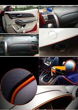 5M RED Car Grille Interior/Exterior Decoration Chrome Styling Molding Trim Strip