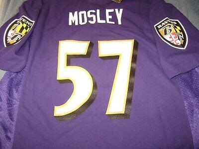 # 57 CJ MOSLEY Baltimore Ravens Jersey Purple YOUTH SIZE XL 18/20 NEW $50 | eBay