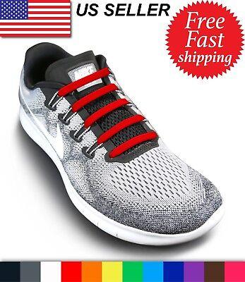 No Tie Shoelaces - Elastic Shoe Laces