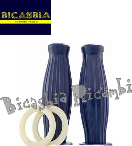 Handgriffe Blase Blau DM 22 Vespa 150 VB1T VBA1T VBA2T VBB1T VBB2T 160 GS 7302