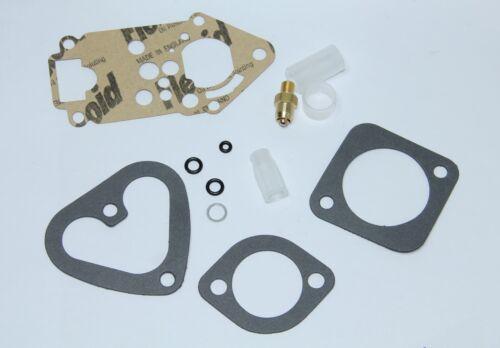 Clásico Fiat 500 126 Revisión Kit De Restauración Kit de Reparación Weber Carburador 28 omp