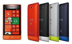 "Original Unlocked HTC 8S A620e 4"" Window Phone 3G Wifi Camera Windows Mobile"