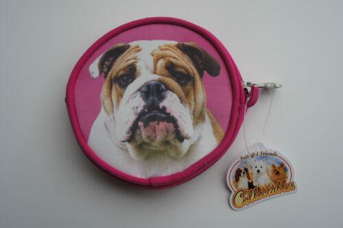 ENGLISH BULL DOG DOG COIN PURSE IDEAL GIFT BULLDOG